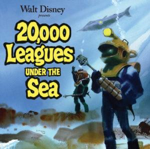 Carátula BSO 20.000 Leagues Under the Sea - Paul J. Smith