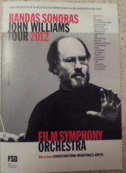Concierto: John Williams Tour 2012 (FSO) – San Sebastián