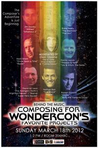 WonderCon 2012 : Blake Neely, Jim Dooley y Nathan Barr