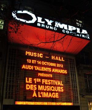 Festival de Música de Cine-Paris (Beltrami, Bource & Zimmer)