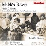 Concierto de Violin de Miklós Rózsa, en Chandos