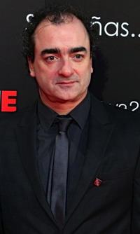 Ganadores de los Reel Awards 2013 (Víctor Reyes, Federico Jusid y Roque Baños)