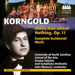 Naxos edita Much Ado About Nothing, OP 11 de Korngold