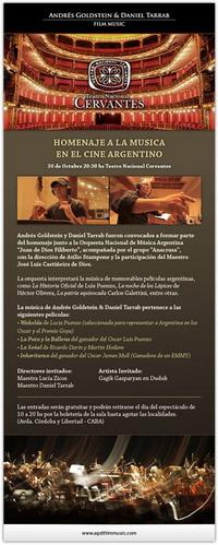 Daniel Tarrab & Andres Goldstein: Concierto Teatro Cervantes
