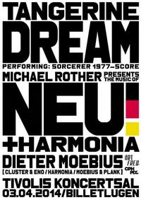 Concierto de Tangerine Dream en Dinamarca: Sorcerer