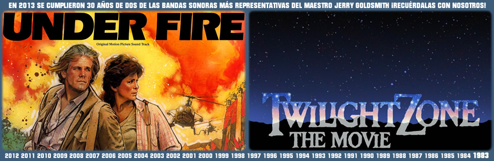 30 años de Under Fire y Twilight Zone, de Goldsmith