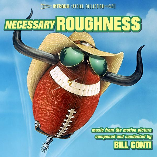 Intrada edita Necessary Roughness de Bill Conti