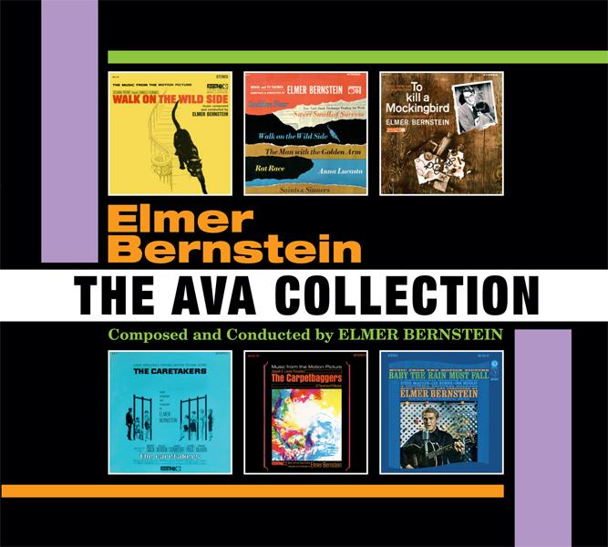 Intrada Records edita Bernstein: The Ava Collection