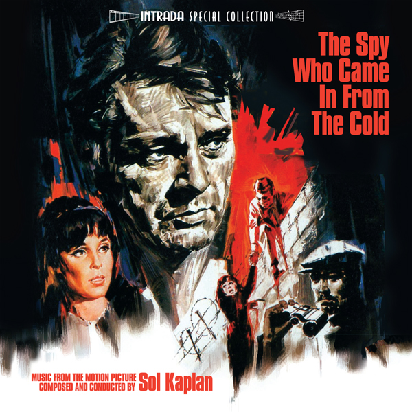 Intrada edita The Spy Who Came in from the Cold de Sol Kaplan