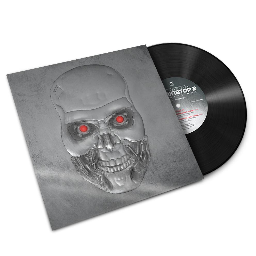 Lanzamiento en LP de Terminator 2 (Brad Fiedel)