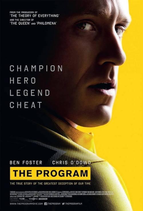 Alex Heffes para el biopic de Stephen Frears sobre Lance Armstrong