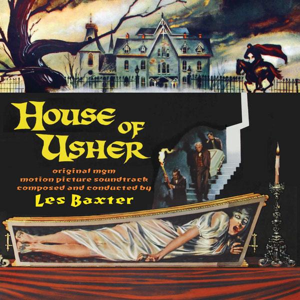 Vuelve House of Usher, de Les Baxter, en Intrada