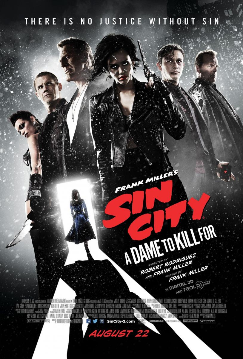 Sin City: A Dame to Kill For (Rodriguez & Thiel)