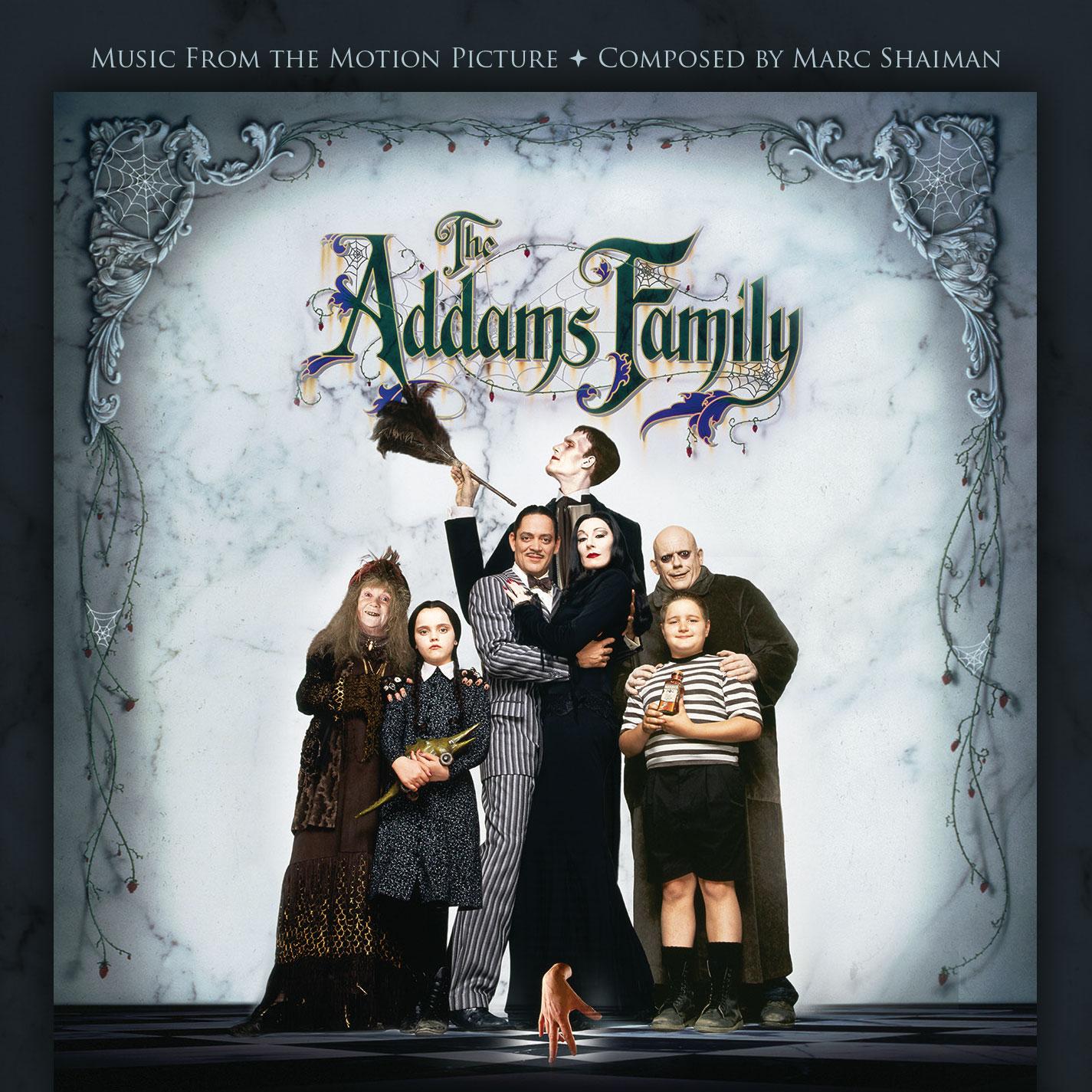 The Addams Family, de Marc Shaiman, en La-La Land Records