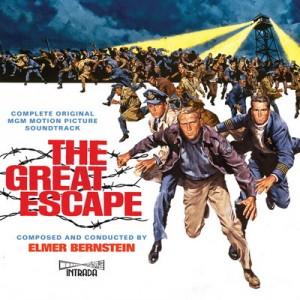 Carátula BSO The Great Escape - Elmer Bernstein