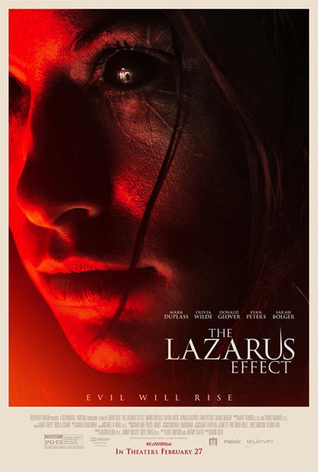 Sarah Schachner en The Lazarus Effect
