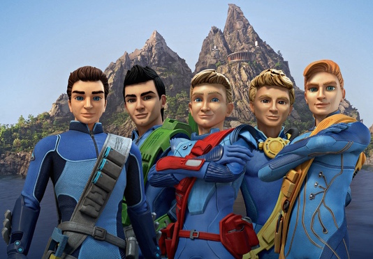Ben y Nick Foster en Thunderbirds Are Go!