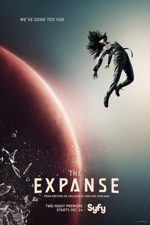 Clinton Shorter en The Expanse, de Syfy