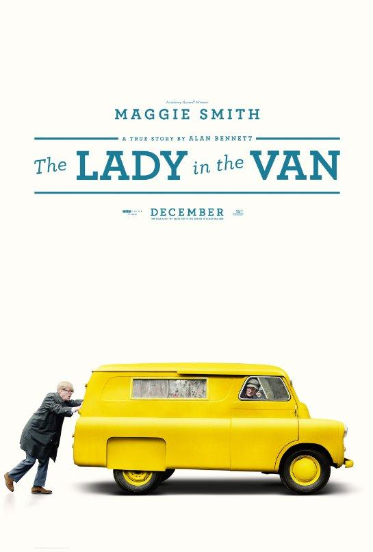 George Fenton en el drama The Lady in the Van