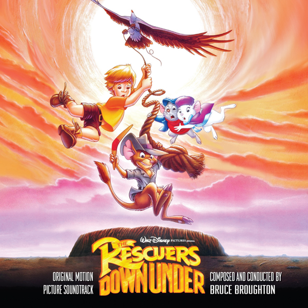 The Rescuers Down Under, Detalles del álbum