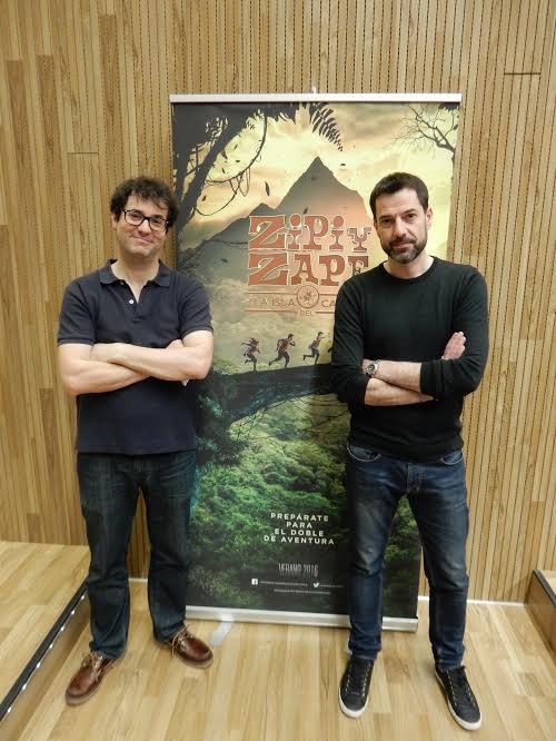 Crónica: Grabación BSO Zipi y Zape y la Isla del Capitán