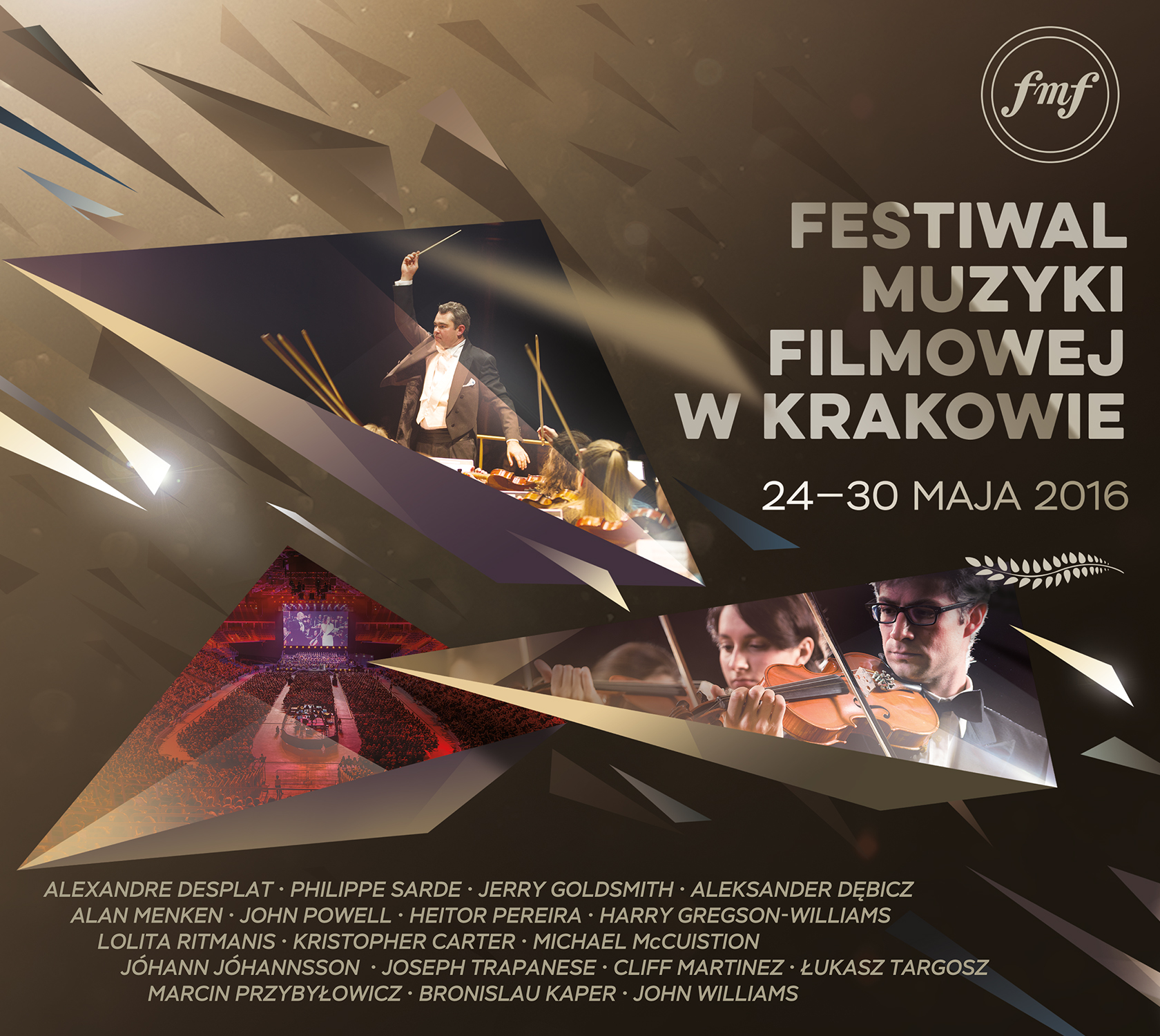 Varèse edita Krakow Film Music Festival 2016
