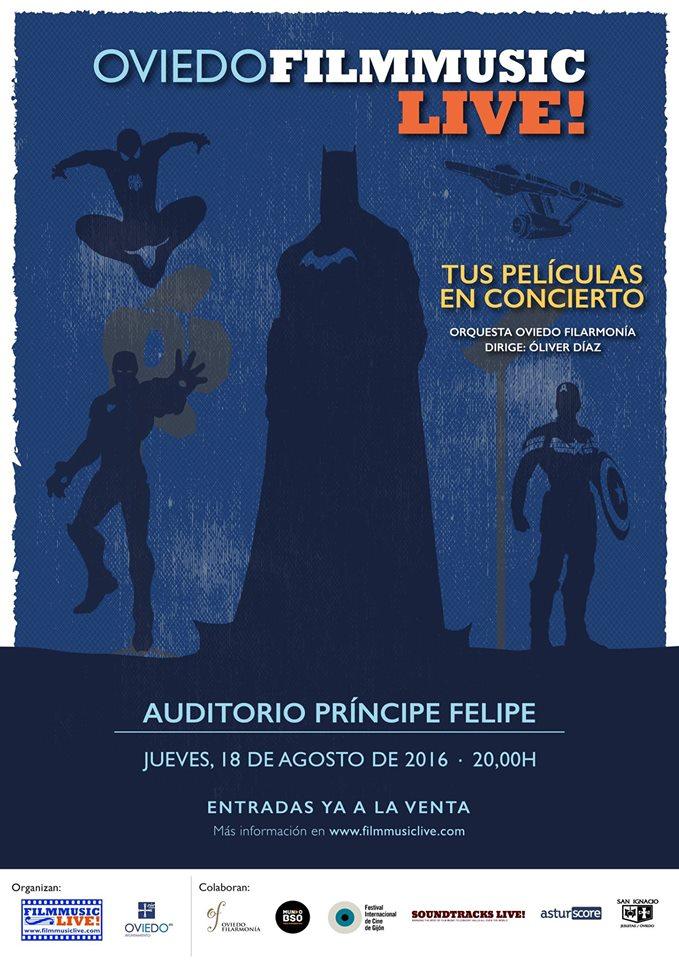 Oviedo FilmMusic Live! 2016
