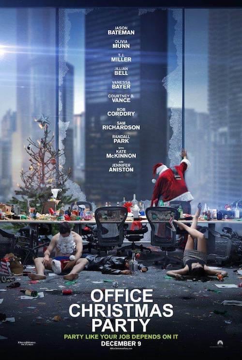 Theodore Shapiro en Office Christmas Party