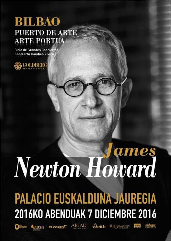 James Newton Howard: Programa del Concierto (Bilbao)