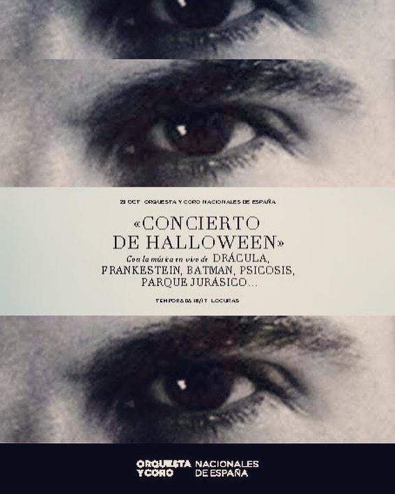 Concierto Halloween de la OCNE