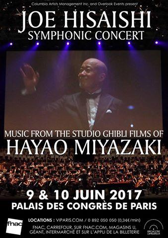 Concierto de Joe Hisaishi en París