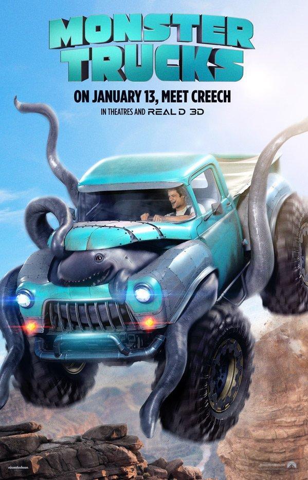 David Sardy en Monster Trucks