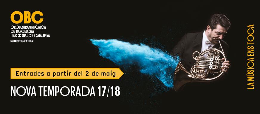Programa de conciertos OBC 2017-18