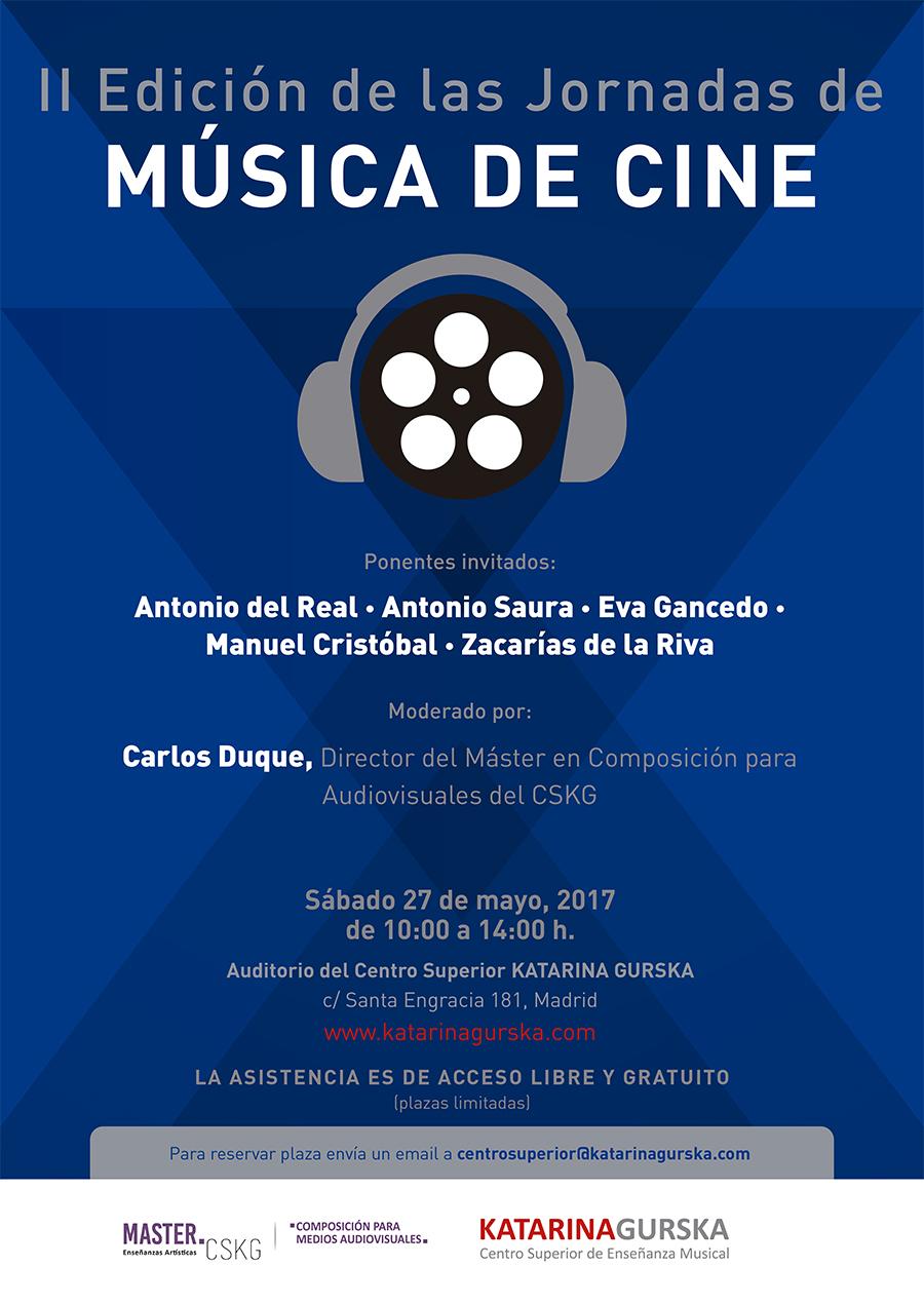 II Jornadas de Música de Cine en Madrid