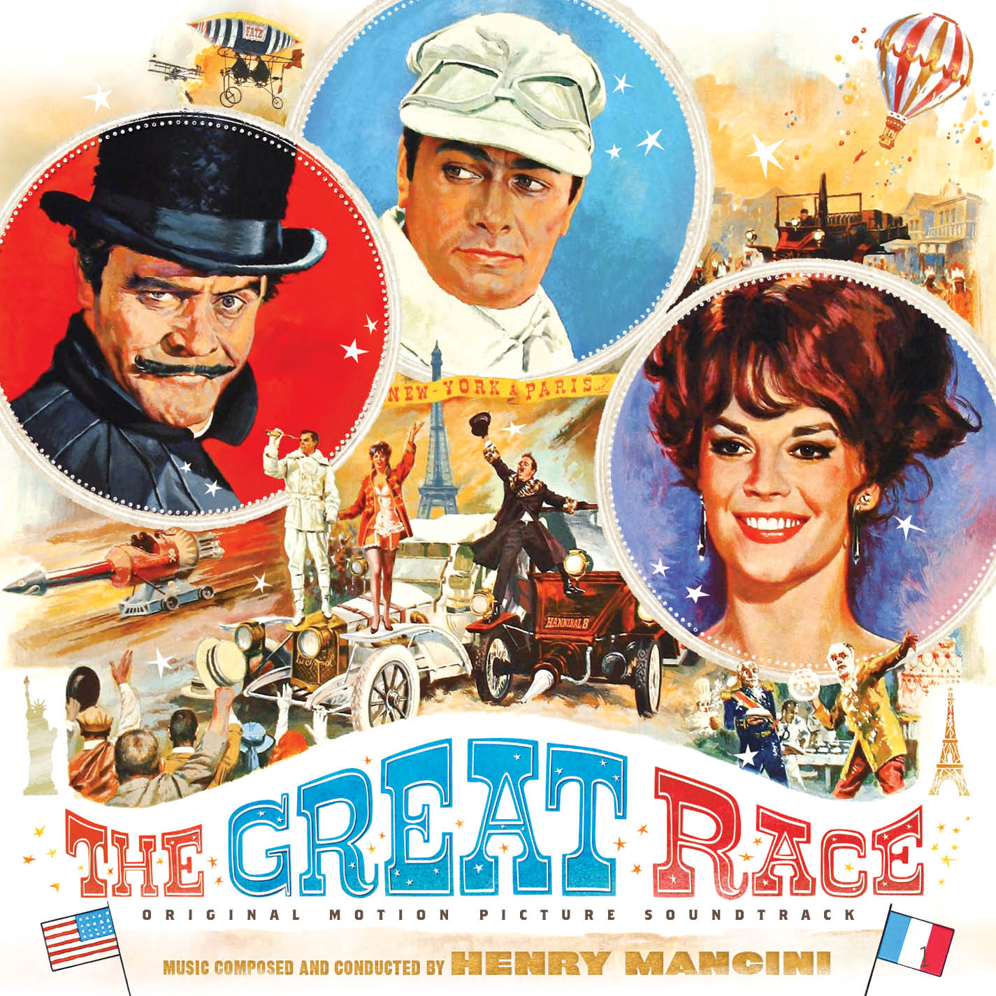 The Great Race (3CD), Detalles del álbum