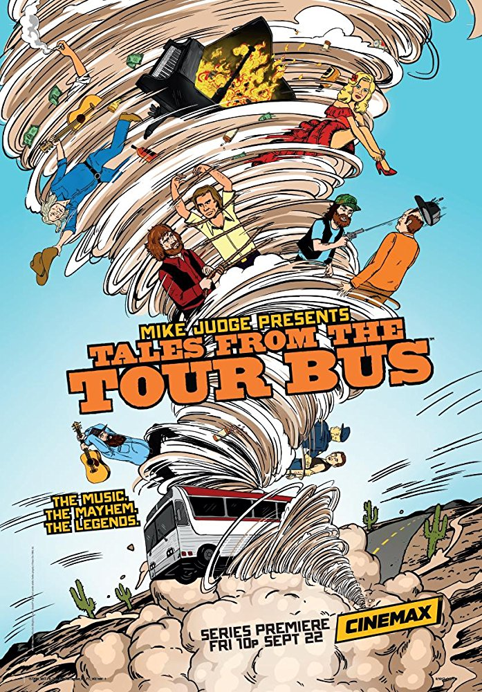 John Frizzell en Tales From the Tour Bus