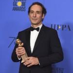 Alexandre Desplat gana el Globo de Oro