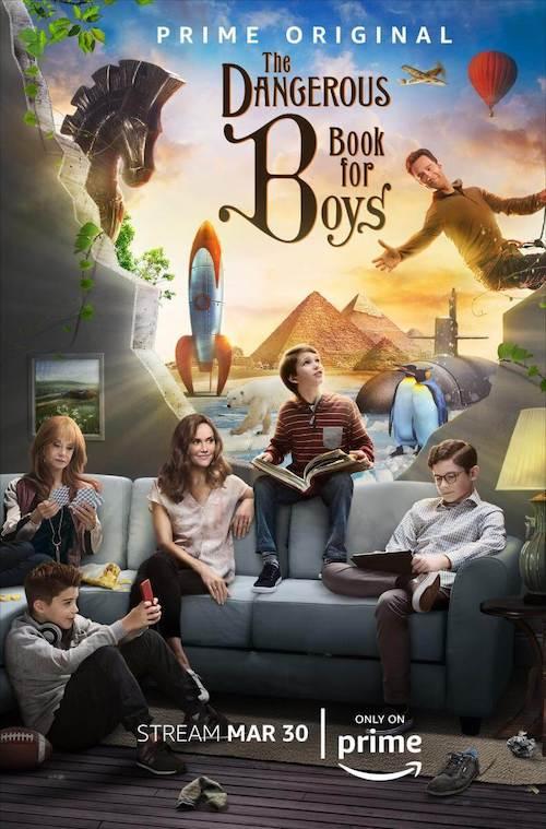 Nick Urata en The Dangerous Book for Boys