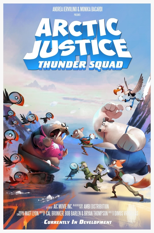 David Buckley en Arctic Justice: Thunder Squad