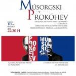 Concierto Músorgski y Prokófiev en Madrid