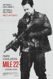 Póster Mile 22