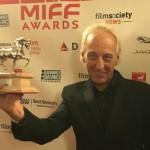 Osvaldo Montes galardonado con el Premio Talento Latino