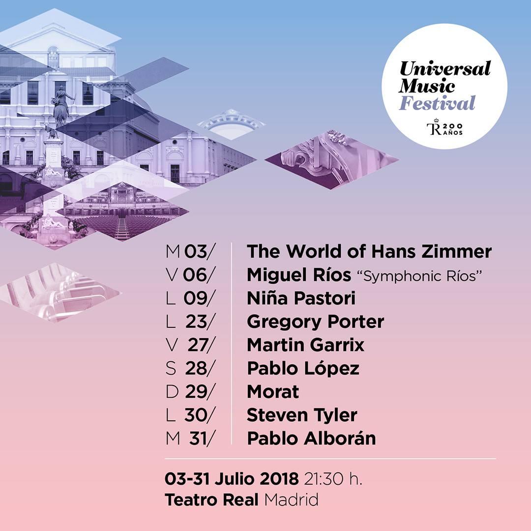 Hans Zimmer al Teatro Real en el Universal Music Festival