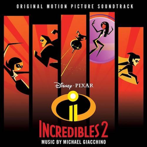 The Incredibles 2, Detalles del álbum