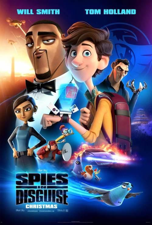 Theodore Shapiro en Spies in Disguise