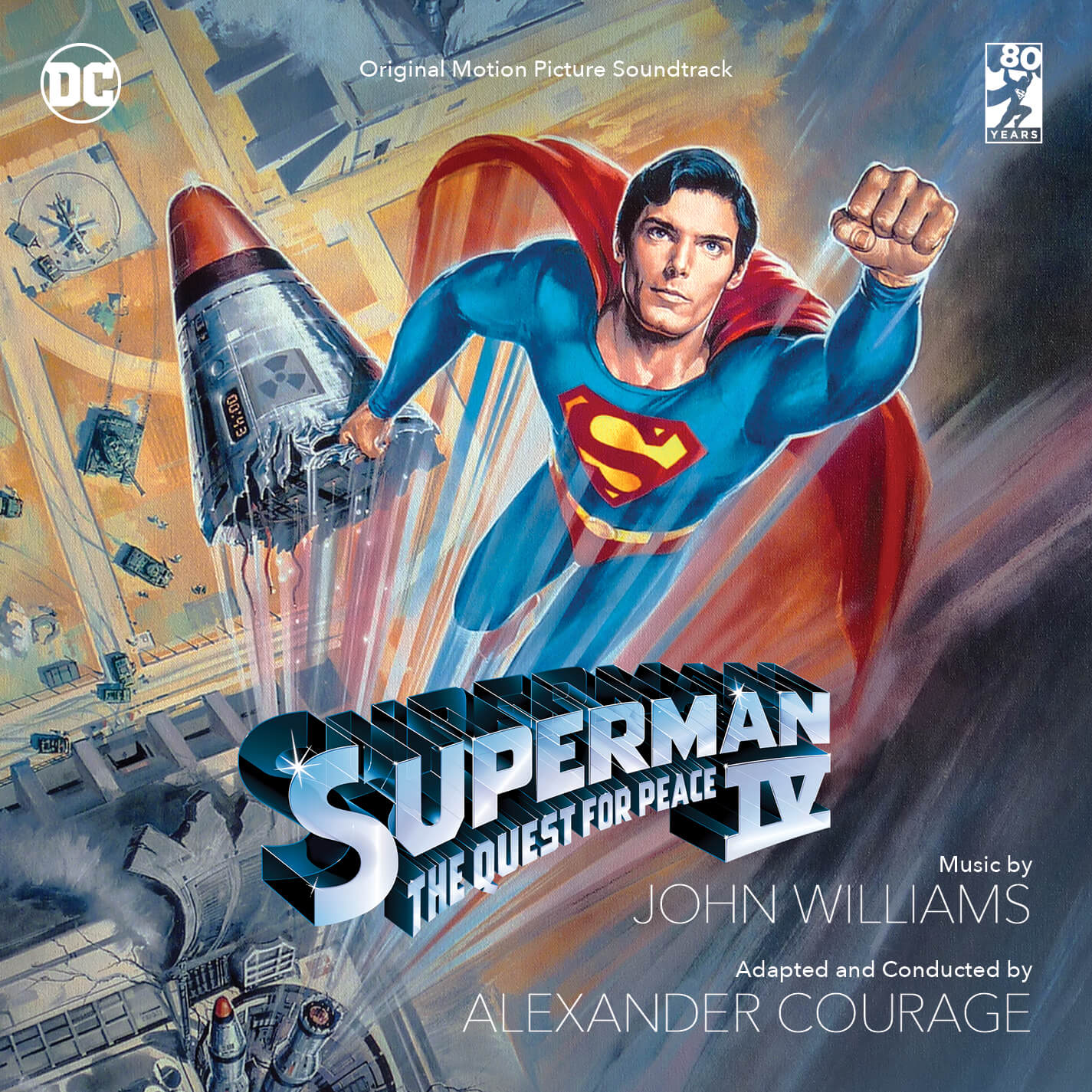 Superman IV: The Quest for Peace (2CD), Detalles