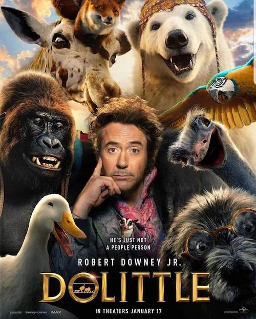 Danny Elfman en The Voyage of Doctor Dolittle