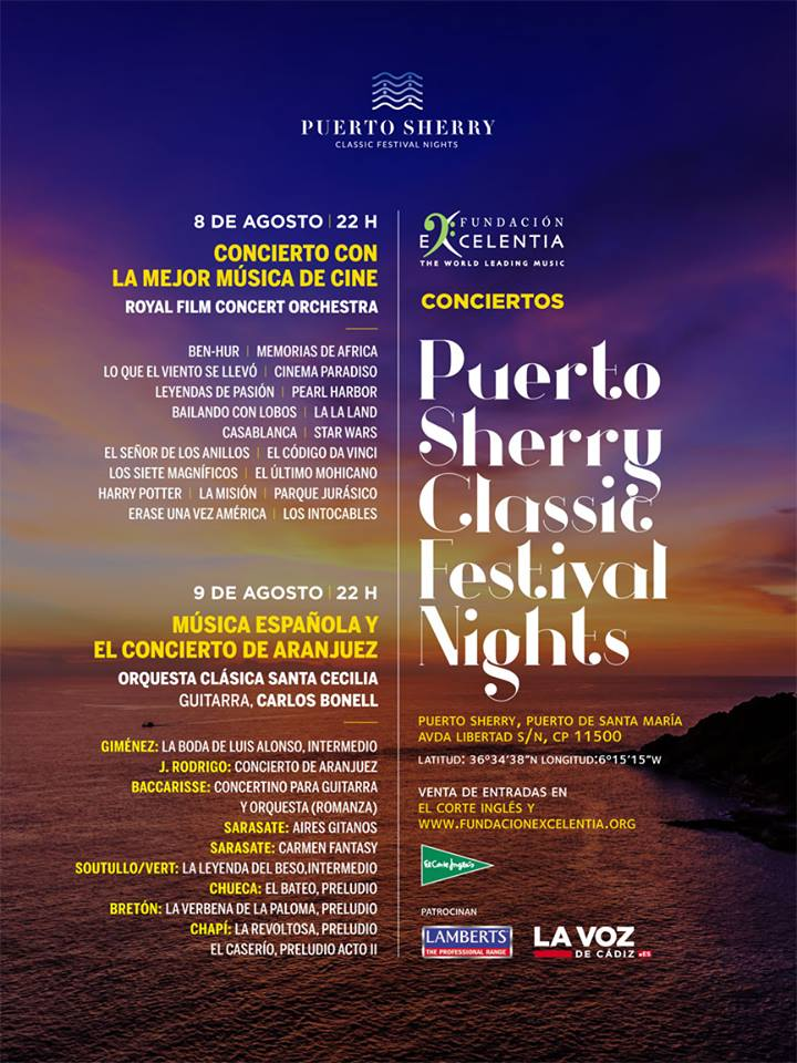 Arranca el Puerto Sherry Classic Festival Nights