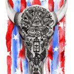 Danny Bensi y Saunder Jurriaans en American Gods: Season 2