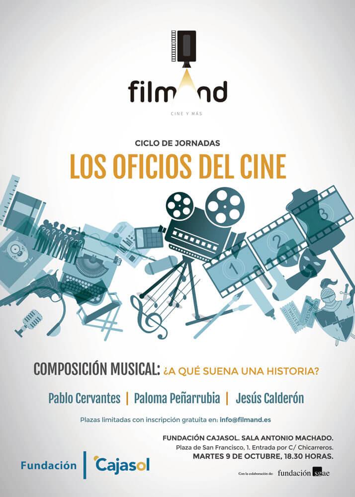 Ciclo Los oficios del cine: ¿A qué suena una historia?
